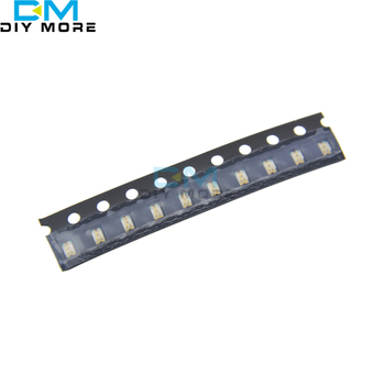 100gab Zilā SMD 0805 SMT Super Bright LED