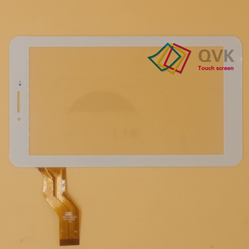 7inch par Irbis TX47 3G tablet pc capacitive touch screen stikla digitizer panelis Digma optima Plaknes 7.1 3G PS7020MG