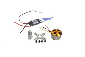 F0-z A2212 1000KV Brushless Motors 13T + 30A Ātruma regulators ESC, lai DIY RC Lidmašīnu Quadcopter Hexacopter Multirotor FS
